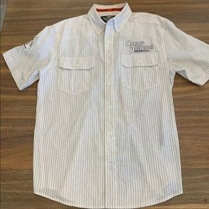 Harley-Davidson Medium Short Sleeve Button Shirt